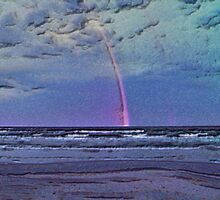 Rainbow Over Gulf Of Mexico by POETRY508