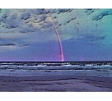 Rainbow Over Gulf Of Mexico Photographic Print