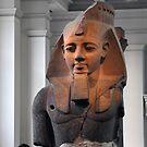 Ramesses II, British Museum, London by James J. Ravenel, III