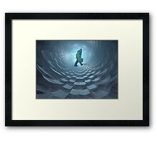Today's paper world Framed Print