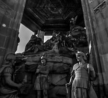 Mount Of Olives Sculpture Speyer Germany by Ian Mooney