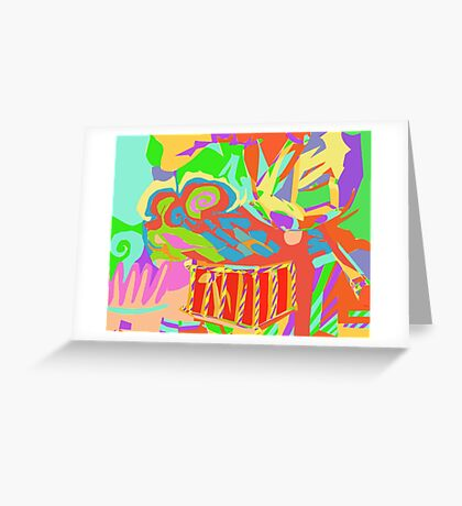 LCD landscape Greeting Card