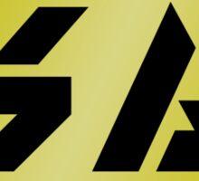 Splatoon Gold Weapon Logo Sticker