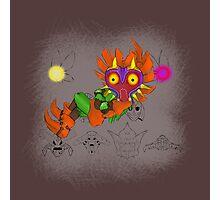 Majora's Mask Skull-Kid Photographic Print
