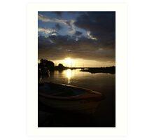 Blakeney, Norfolk...Evening Sun Art Print