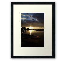 Blakeney, Norfolk...Evening Sun Framed Print
