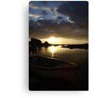 Blakeney, Norfolk...Evening Sun Canvas Print