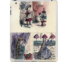 The Little Folks Painting book by George Weatherly and Kate Greenaway 0043 iPad Case/Skin