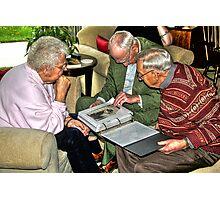 Sharing Memories Photographic Print