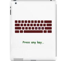 Any Key iPad Case/Skin