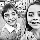 :-) Two Extremly Happy Faces (-: by Mojca Savicki