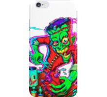 Crazy scientist iPhone Case/Skin