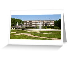 Castle Herrenchiemsee Greeting Card