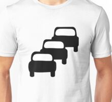 Traffic Queues Likely Sign Unisex T-Shirt
