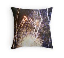 Fireworks Part 1 Throw Pillow