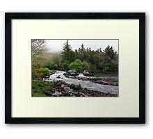 Bundorragha River Ireland Framed Print