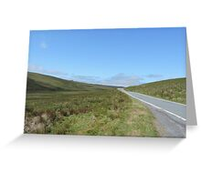 Welsh Valley Greeting Card