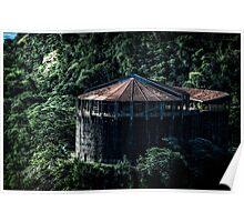 Building at Iguazu Poster