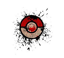 Pokeball-Splash! Photographic Print