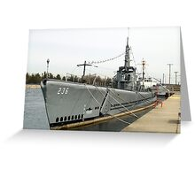 USS Silversides Greeting Card