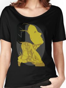 yellow-oculus Women's Relaxed Fit T-Shirt