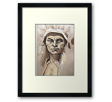 Proud Chief  Framed Print