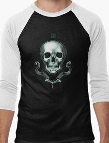 Death Skull  Men's Baseball ¾ T-Shirt