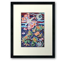inner spring Framed Print