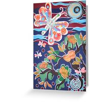 inner spring Greeting Card