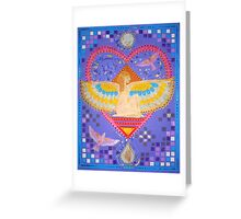 Isis Dreaming Greeting Card