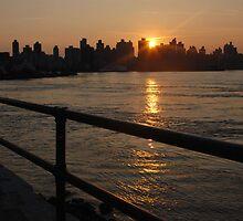 An Astoria Sunset by Cassandra Burda