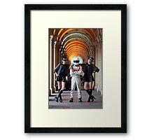 Grid Girls @ Melbourne GPO Framed Print