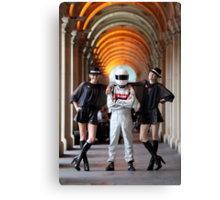 Grid Girls @ Melbourne GPO Canvas Print