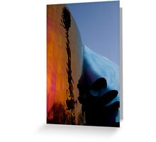 Seattle Washington space needle abstract Greeting Card