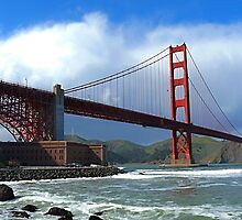 Golden Gate by Matteo Romagnoli