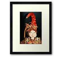 La Belle Madame Framed Print