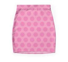 Pink Polka Dots Mini Skirt
