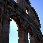 Pula Amphitheatre by Samantha Bloomfield