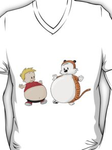 calvin and hobbes obessive T-Shirt