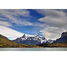 Torres Del Paine National Park Chile Photographic Print