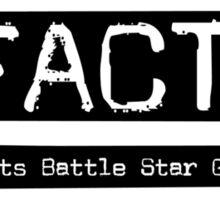 Bears Beets Battle Star Galactica. Sticker