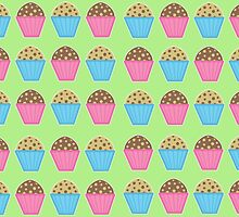Muffins by Louise Parton