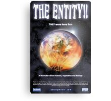 Promotional Poster THE ENTITY!! 01 Metal Print