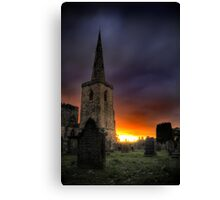 Sunset Cathedral Canvas Print