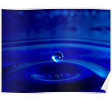 Blue Drop Poster