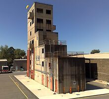 Nsw Fire Brigades Training College Tower by rossco