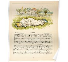A Day in a Child's Life Myles Birket Foster and Kate Greenaway 1881 0026 Tired Poster