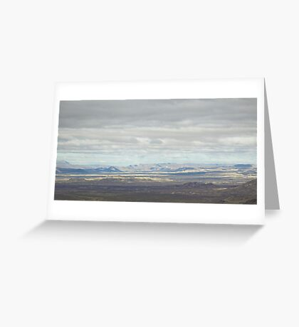 Topography Greeting Card