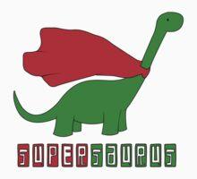 supersaurus funny Kids Tee