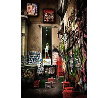Back-Alley Madonna Photographic Print